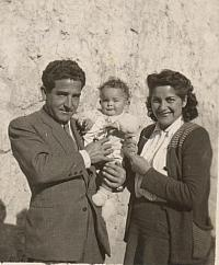 1944 Francisco Oliete - Isabel - Gloria Borderas